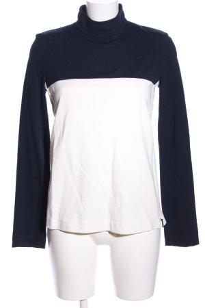Strenesse Sweatshirt schwarz-weiß Casual-Look
