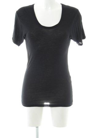 Strenesse T-Shirt schwarz Casual-Look