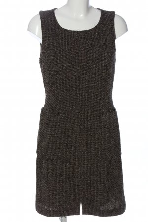 Strenesse Trägerkleid schwarz-wollweiß meliert Casual-Look