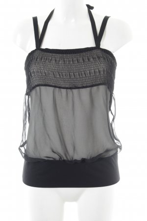 Strenesse Trägertop schwarz-weiß Casual-Look