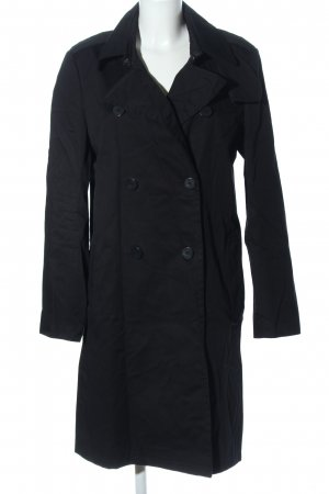 Strenesse Trenchcoat schwarz Business-Look
