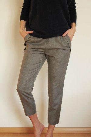 Strenesse Pantalone a 3/4 grigio Lana
