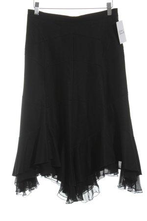 Strenesse Volantrock schwarz Elegant