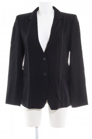 Strenesse Woll-Blazer schwarz Business-Look
