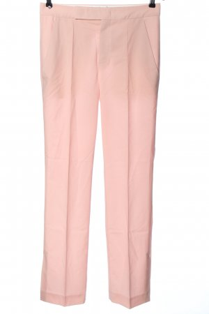 Strenesse Woolen Trousers pink business style