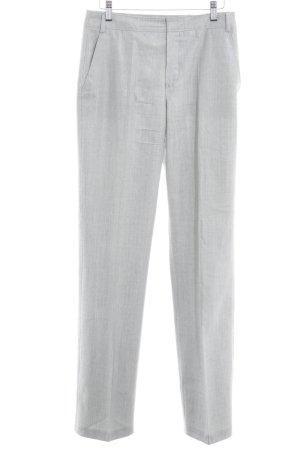 Strenesse Pantalone di lana grigio chiaro stile professionale