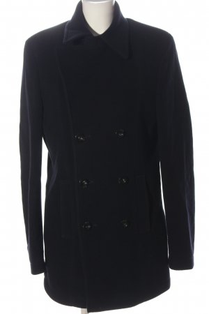 Strenesse Wool Coat black business style