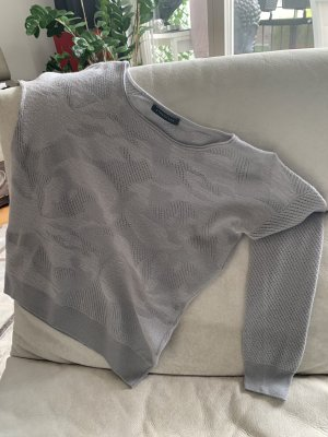Strenesse Wool Sweater silver-colored-grey