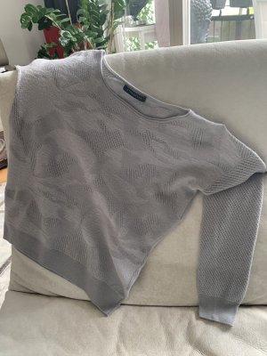 Strenesse Maglione di lana argento-grigio