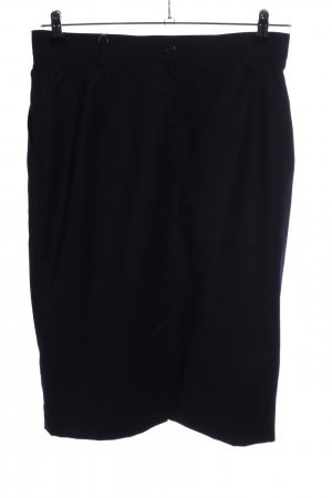 Strenesse Gonna di lana nero stile casual