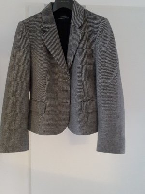 Strenesse Blazer in lana bianco-nero Lana