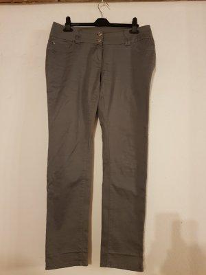 Flame Pantalon strech gris foncé-gris anthracite