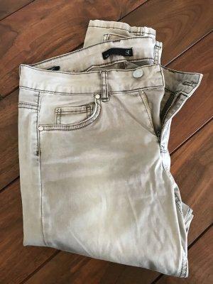 Superdry Jeans stretch argenté-gris foncé coton