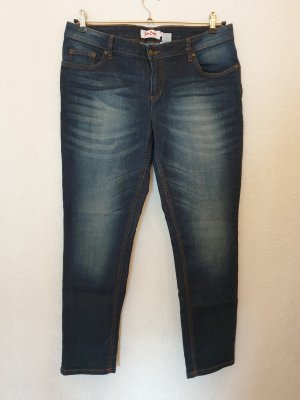 John Baner Stretch jeans blauw-donkerblauw