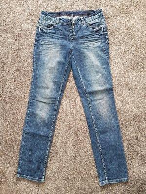 Cecil Stretch jeans blauw-azuur