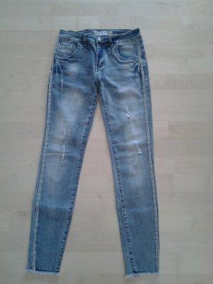 Amisu Jeans a 7/8 multicolore