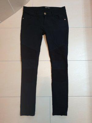 Forever 18 Stretch broek zwart Katoen