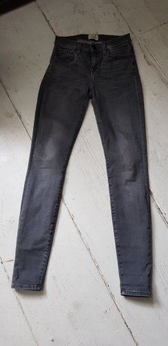 Selected Femme Vaquero elásticos gris-gris oscuro Licra