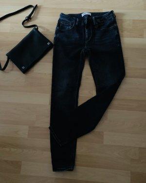 Stretch Jeans von Zara, Größe 40