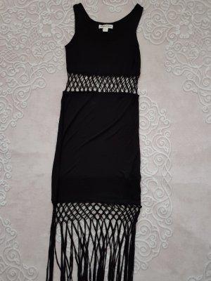 Hennes & Mauritz Vestido elástico negro