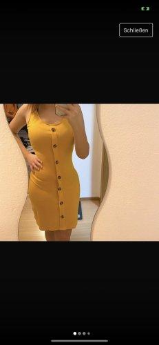 Stretch Kleid in Größe XS in Gelb
