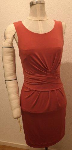 Mango Suit Pencil Dress salmon-apricot