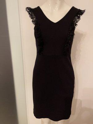 Stretch Kleid mit Spitze von Esprit Gr 34 36 S
