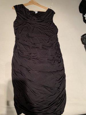 Stretch Kleid schwarz gr L H&M schwarz