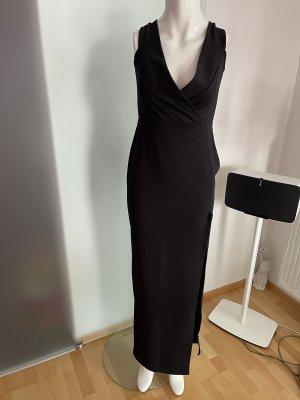 Stretch Maxikleid Abend Kleid Gr 40 L von Boohoo