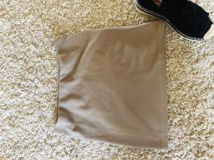 Voyelles Jupe stretch beige-gris brun