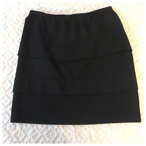 Sani Blu Stretch Skirt black