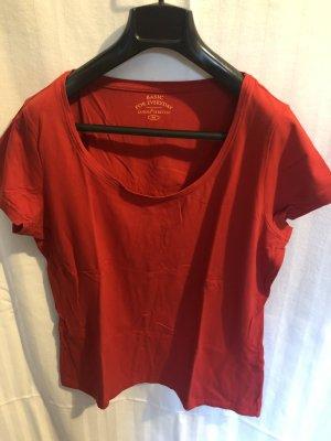 Stretch shirt Basic rot 44