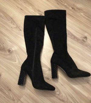 Cecil Stretch Boots black