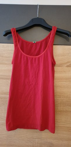 United Colors of Benetton Top basic rosso scuro