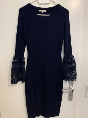 Robe stretch bleu foncé