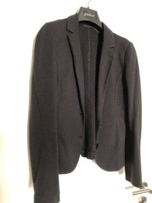 Rinascimento Blazer in jersey nero Cotone