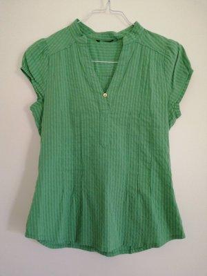 H&M Slip-over Blouse lime-green-khaki