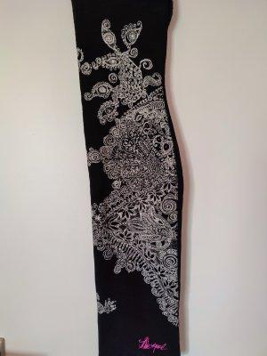 Desigual Tube Dress white-black