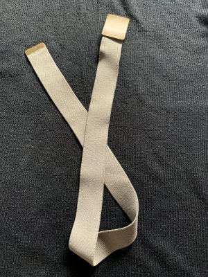Fabric Belt green grey polyester