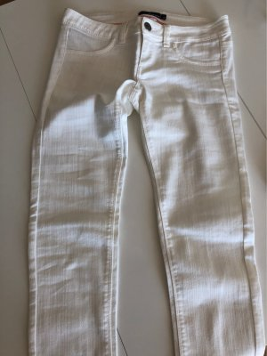 Tally Weijl Low-Rise Trousers white
