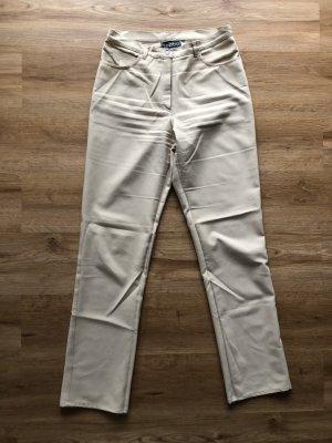 Chervo Pantalone cinque tasche crema