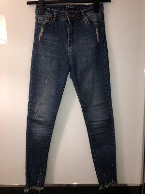 Stretch Trousers dark blue