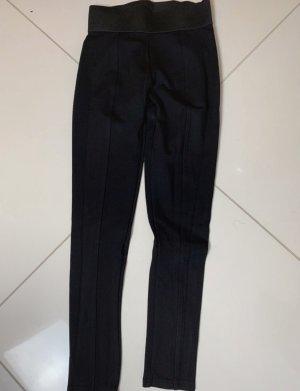DKNY Spodnie rurki czarny