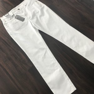 Anna Montana Stretch broek wit