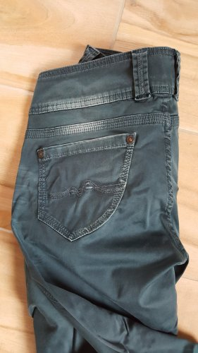 Pepe Jeans Stretch Trousers petrol