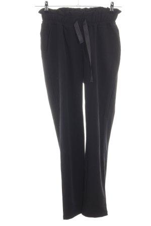 Pantalón elástico negro look casual