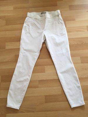 Thomas Rath Pantalone elasticizzato bianco
