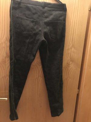 Alpin de luxe Pantalón tipo suéter azul oscuro-verde