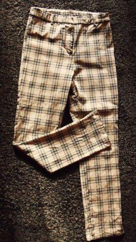 H&M Pantalone a vita alta oro