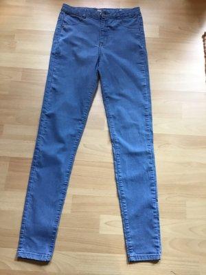 Pull & Bear Jeans a sigaretta blu fiordaliso